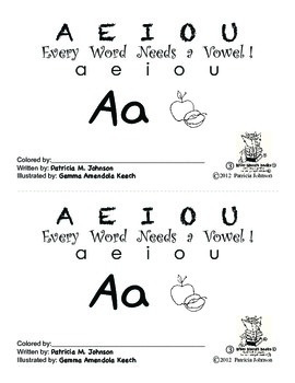 Guided Reading Alphabet Books - Vowel A - Level 3