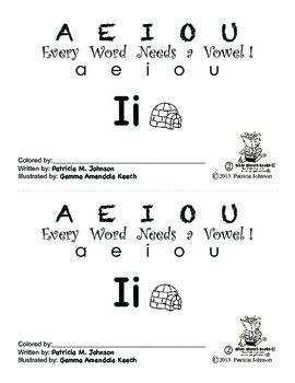 Guided Reading Alphabet Books - Vowel I - Level 2