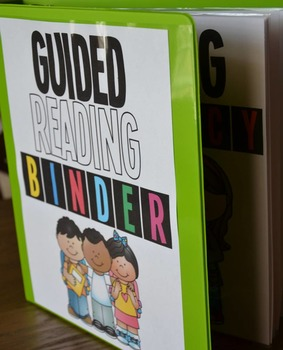Guided Reading Binder Pages FREEBIE!