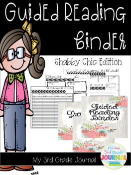 Guided Reading Binder - Shabby Chic Edition