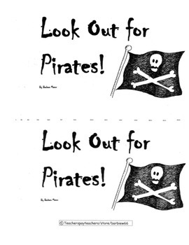 Guided Reading Book: Level D: Look Out for Pirates!  Inclu