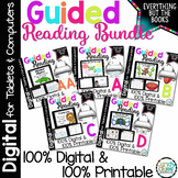 Guided Reading Activities & Lesson Plans Bundle AA-D (Prin
