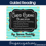 Guided Reading Organization