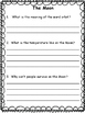 Guided Reading: Comprehension Level K