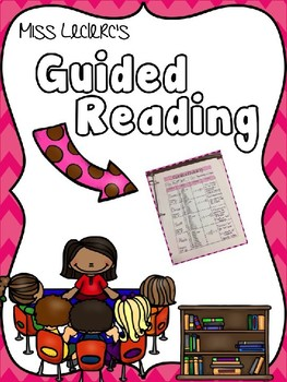 Guided Reading Editable