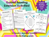 Guided Reading Extension Activities:  Complete A-Z Package