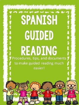 Guided Reading Folders- Spanish- Editable