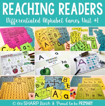 Guided Reading Alphabet Games