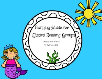 Guided Reading Groups planning guide