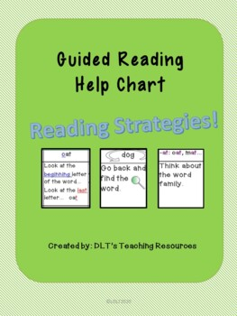 Guided Reading Help Chart
