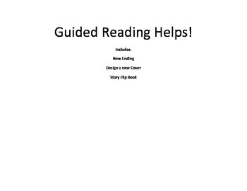 Guided Reading Helps
