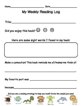 Guided Reading Homework