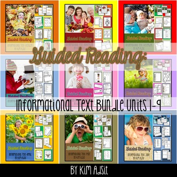 Guided Reading - Informational Text - All Unit Bundle by K