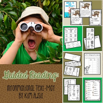 Guided Reading - Informational Text - May by Kim Adsit