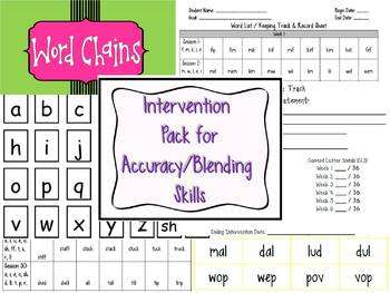 Guided Reading / Interventions Early Readers: Word Work Sk