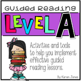 Guided Reading ~ LEVEL A