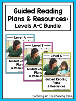 Guided Reading Activities and Lesson Plans - Levels A, B,