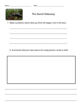 Guided Reading Lesson-Secret Hideaway