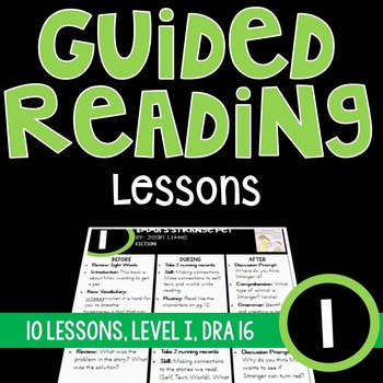 Guided Reading Lessons {Level I}