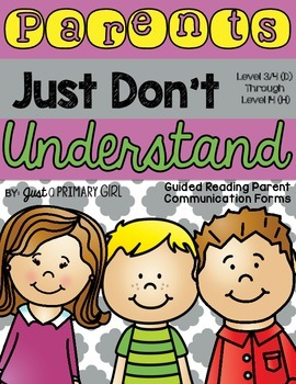 Guided Reading Letters