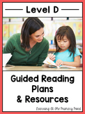 Guided Reading Activities and Lesson Plans for Level D