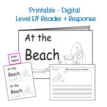 Guided Reading Level E/F Printable Book and Lesson Plan: