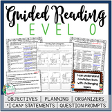 Guided Reading Lesson Plans Level O