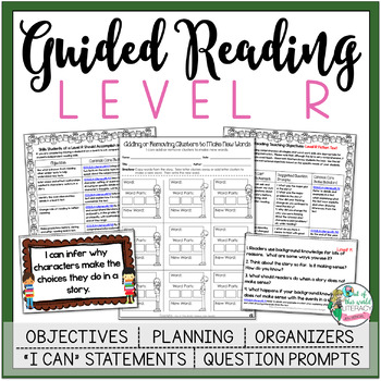 Guided Reading Lesson Plans Level R