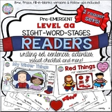 Guided Reading: Level aa Winter Sight Word Reader and Acti