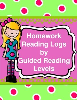 Guided Reading Leveled Homework