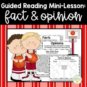 Guided Reading Mini-Lesson: Fact & Opinion (3rd/4th/5th/6t