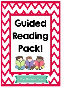 Guided Reading Pack- Editable!