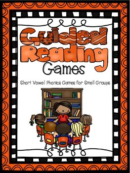 Guided Reading Phonics Games (Short Vowels & Ending Blends)