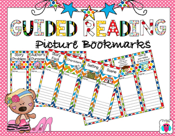 Guided Reading Picture Bookmarks