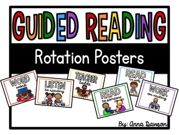 Guided Reading Posters and Labels