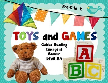 Guided Reading Toys & Games