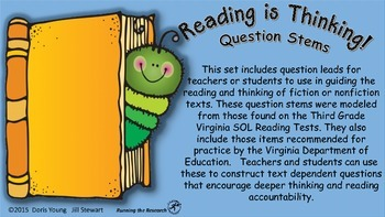 Guided Reading Question Leads For Deep Thinking and Test P