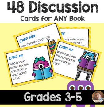 Guided Reading Questions: 48 Cards for Independent, Guided