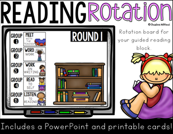 Guided Reading Rotation Board