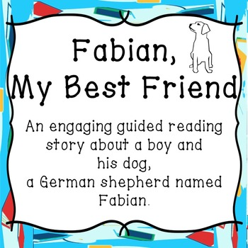 A Boy and His Dog-Guided Reading-Animal Fiction with Vocab