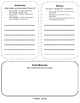 Guided Reading Story Elements Graphic Organizer - Book Study