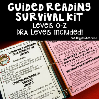 Guided Reading Survival Kit (Levels O-Z)