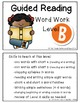 Guided Reading: Word Work Level B