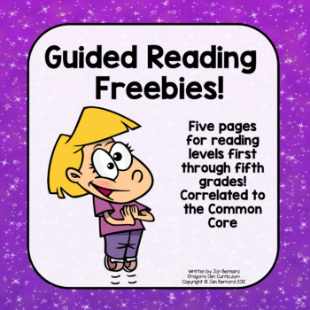 Guided Reading Freebies!