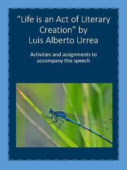 Guided Reading and Activities for Urrea Speech on Life (No