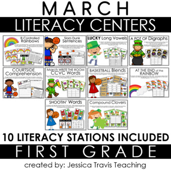 Guided Reading for 1st Grade {MARCH}