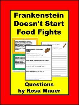 Bailey School Kids Frankenstein Doesn't Start Food Fights