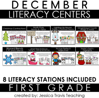 Guided Reading for First Grade ~ DECEMBER