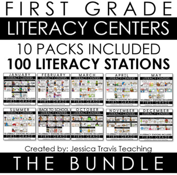 Guided Reading for First Grade - THE GROWING BUNDLE