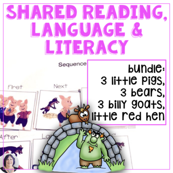 Shared & Guided Reading for Special Education 4 unit BUNDLE